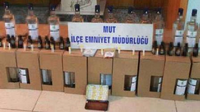 MUT'TA SAHTE İÇKİ OPERASYONU