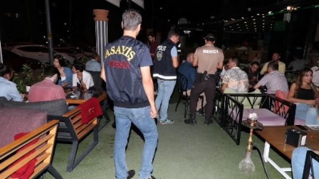 MERSİN POLİSİ ASAYİŞ UYGULAMASINDA