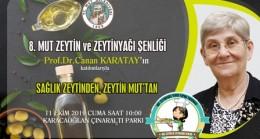 Zeytin ve Zeytinyağı Şenliği 11 Ekim'de