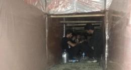 Göçmen Kaçakçısı 13 Şüpheli Tutuklandı