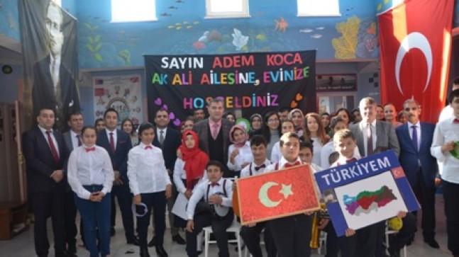 Mersin Milli Eğitim Müdürü Koca'dan İlçelere Ziyaret
