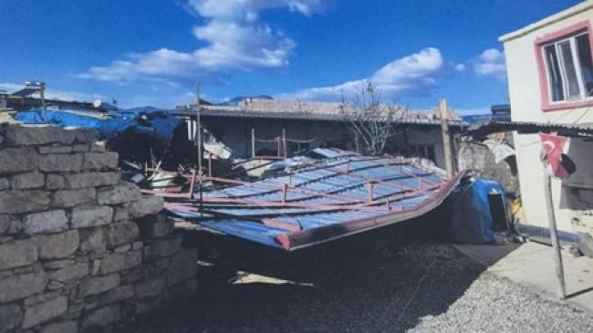 SYDV'den Yağışlardan Evleri  Zarar Gören Ailelere Yardım