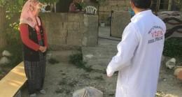 Mut SYDV'den Koronadan Etkilenenlere Yardım