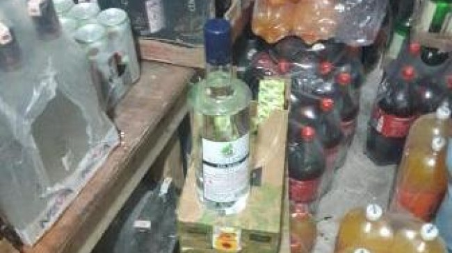 İçki Yapımında Kullanılan Maddeler Ele Geçti
