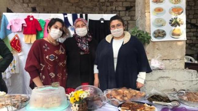Taşhan'daki Üretici Kadınlar Stantlarını Nisanur İçin Açtı