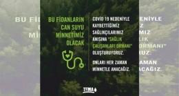 TEMA'dan 'Sağlık Çalışanları Ormanı'