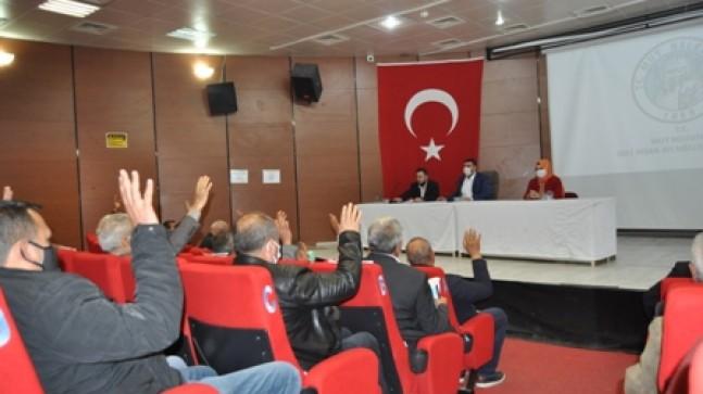 Nisan Ayı Belediye Meclis Toplantısı Yapıldı