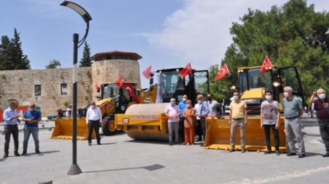 Belediye Araç Filosunu Güçlendiriyor