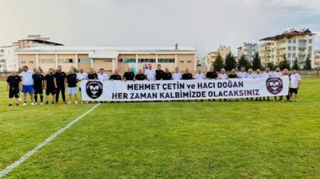 Mehmet Çetin ve Hacı Doğan Anısına Veteranlar Maçı