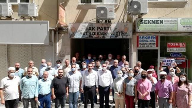 AK Parti'li Cevdet Bal ve Hüseyin Soyer'den Mut Ziyareti