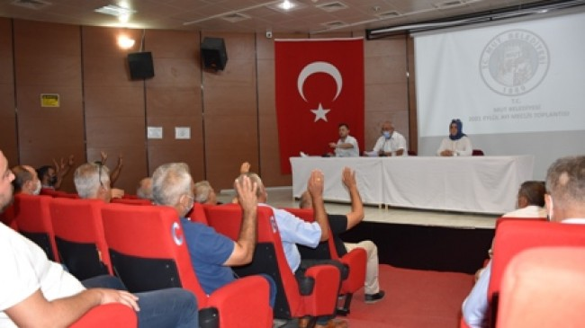 Mut Belediye Meclisi Eylül Ayı Toplantısını Yaptı