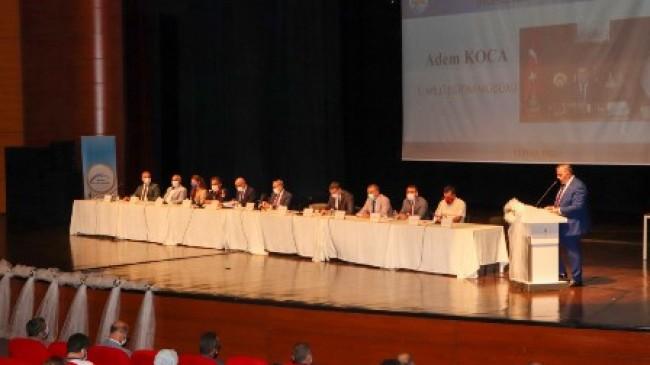 Mersin'de Paydaş Kamu Kurumları ve Okul Müdürleri ile Değerlendirme Toplantısı Yapıldı