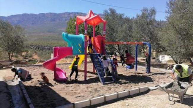Tekeli'ye Çocuk Parkı