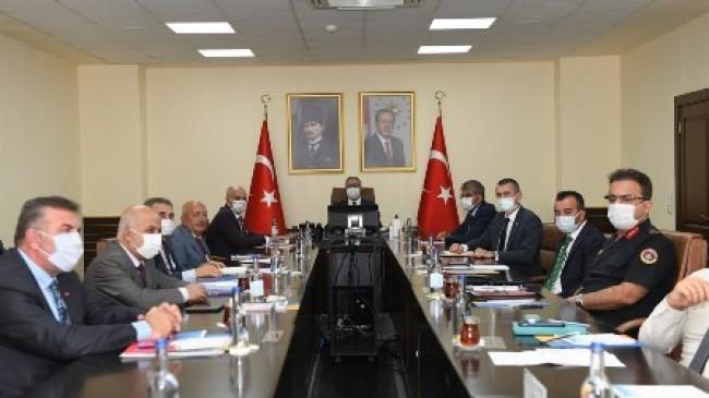 'Üniversitelerde Güvenlik Koordinasyon Toplantısı' Yapıldı