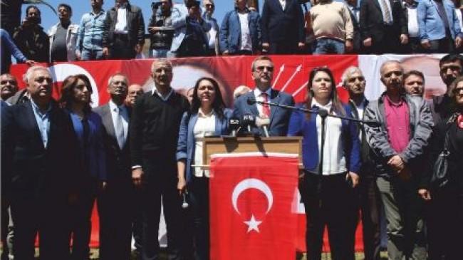 CHP Mersin İl Başkanlığından Basın Açıklaması
