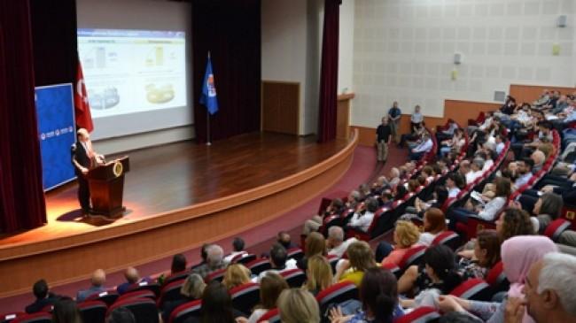 Tübitak Başkanı Prof. Dr. Hasan Mandal MERSİN ÜNİVERSİTESİNDE