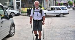 Alman Turistten Yürüyerek Türkiye Turu