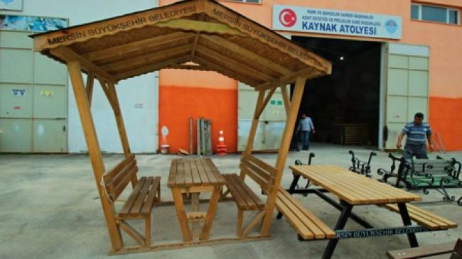 Mersin'in Kent Mobilyaları  Usta Ellerden Çıkıyor