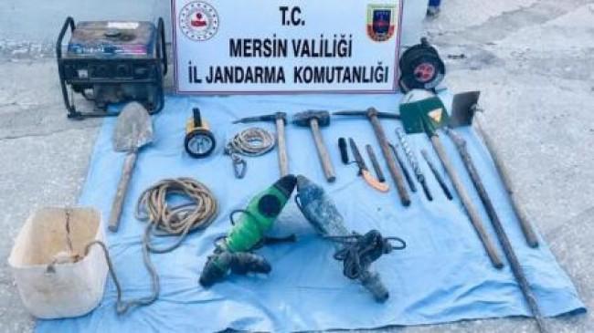 Kaçak Kazıya Suçüstü: 2 Gözaltı