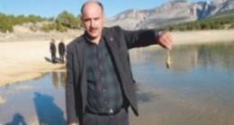 Sulama Göletindeki Balıklar Kıyıya Vurdu