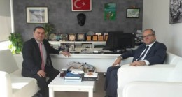 Başkan Kahveci'den Oranlı'ya Ziyaret