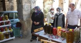 Kaymakamdan Taşhan Üretici  Kadınlar Pazarına Ziyaret