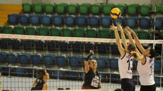 Mersin Büyükşehir GSK, Yenişehir Belediyesi  Mersin İhtisas Spor Kulübü'nü 3-0 Yendi