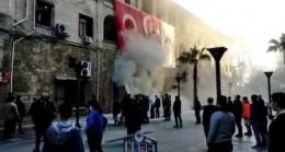 Mersin Büyükşehir  Belediyesi'nde Yangın