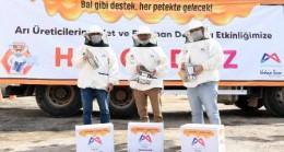 Büyükşehir'den  Arı Yetiştiricilerine  'Bal Gibi' Destek