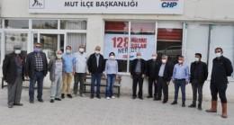 CHP Mut İlçe Örgütü'nden '128 Milyar Dolar Nerede?' Pankartı