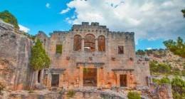 Mersin'in Ayasofya'sı Alahan Manastırı