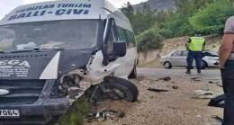 Mut'ta Trafik Kazası: 8 Yaralı