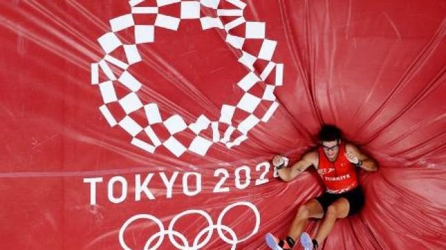 Mersin Üniversitesi Öğrencisi Milli Atlet Ersu Şaşma'dan Tarihi Başarı