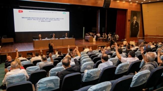 Mersin Büyükşehir Belediye Meclisi'nin Eylül Ayı 2. Toplantısı Yapıldı