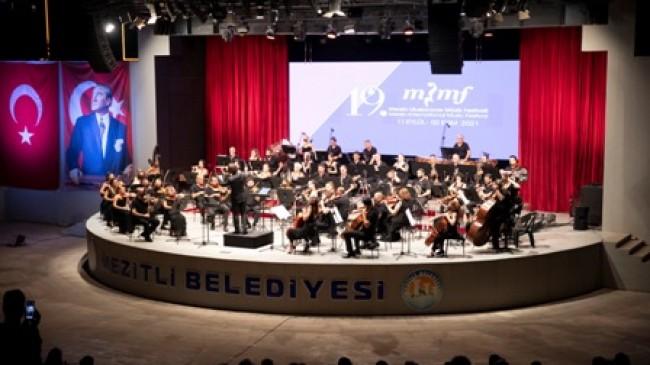 19. Mersin Uluslararası Müzik Festivali Gala Konseriyle Başladı