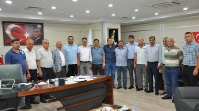 MESOB Başkanı Dinçer'den Mut Ziyareti