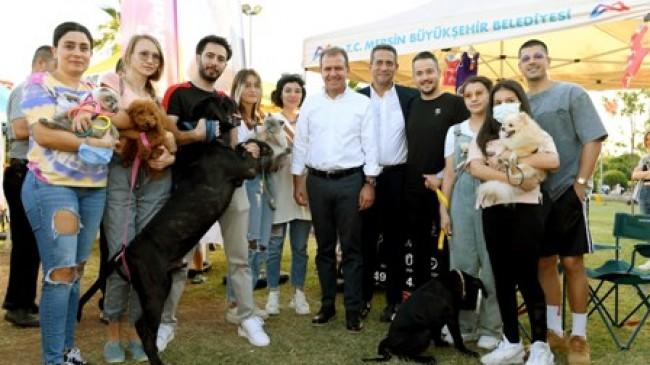 Mersin'deki Hayvanseverler PATİ FEST'te Buluştu